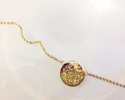 Goldkette Wappen